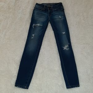 American Eagle Super Stretch Jeans Sz 00 Short
